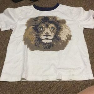 Gymboree lion tee